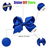 20 Pcs 4.5 Inch Baby Girls Toddler Hair Bows With