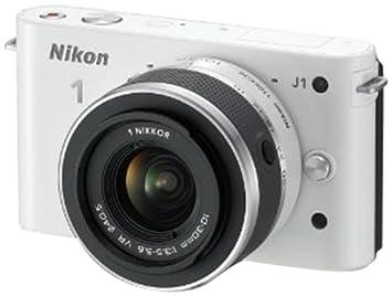 Nikon 1 J1 Cámara EVIL - Blanco (10-30mm Kit con 1 objetivo, 10MP ...