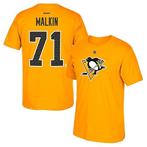 (adidas Evgeni Malkin Reebok Pittsburgh Penguins 'Tri-Matrix' Jersey T-Shirt Men's)