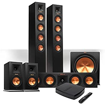 klipsch reference premiere hd wireless 5 1 floorstanding and monitor system with 10. Black Bedroom Furniture Sets. Home Design Ideas