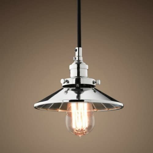 LightInTheBox Country Retro Vintage Style Industrial LOFT Chrome Pendant Light Ceiling Light Lighting Fixture Lamp