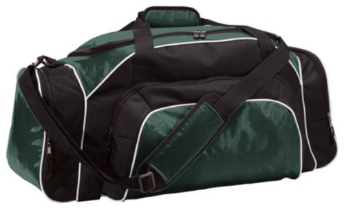 Tournament Heavyweight Oxford Nylon Duffle Bag from Holloway Sportswear (Tri Sport Color Bag)