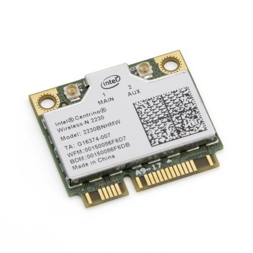 Intel Centrino 2230 Mini PCI Express Bluetooth 4.0 2230BNHMW IEEE 802.11n Wi-Fi/Bluetooth Combo Adapter 300 Mbps by Intel