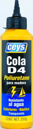 ceys 501617 Cola poliuretano biberon 250 gr Azul, 0