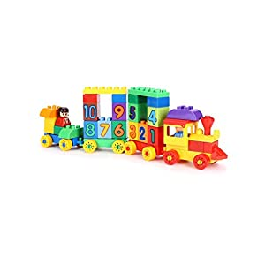 Negi Play Blocks Number Train...