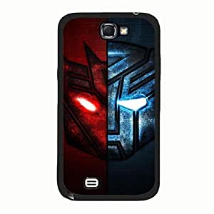 Hot Pattern Transformers Phone Case Cover For Samsung Galaxy Note 2 n7100 Transformers Fashionable