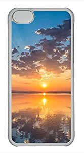 iPhone 5c case, Cute Sunset iPhone 5c Cover, iPhone 5c Cases, Hard Clear iPhone 5c Covers