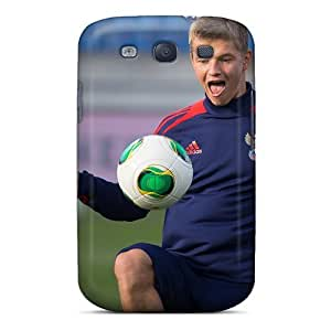 LatonyaSBlack Design High Quality Russian Midfielder Oleg Shatov Cover Case With Excellent Style For Galaxy S3