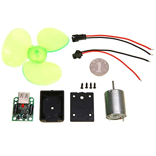 Mini Wind Turbines Generator Hydraulic Generator Micro Motor Toy Project DIY Kit