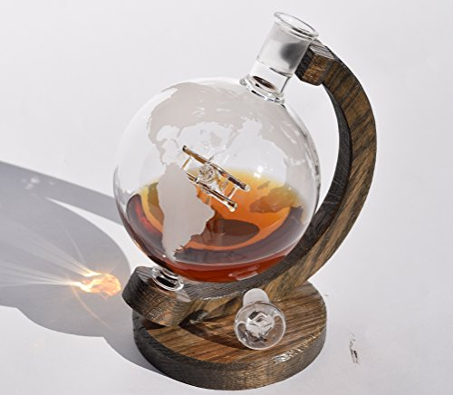 etched-globe-airplane-whiskey-decanter-1000ml-lead-free-glass-bourbon-decanter-with-glass-plane-insi