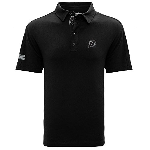 (Levelwear LEY9R NHL New Jersey Devils Men's Reign Dart Polo, X-Large,)