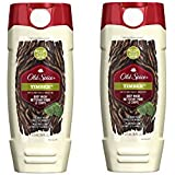 Old Spice Body Wash - Fresher Collection - Timber - Net Wt. 16 FL OZ (473 mL) Each - Pack of 2