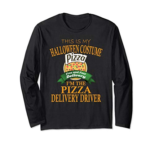 Pizza Delivery Driver Halloween Costume T-shirt This Is