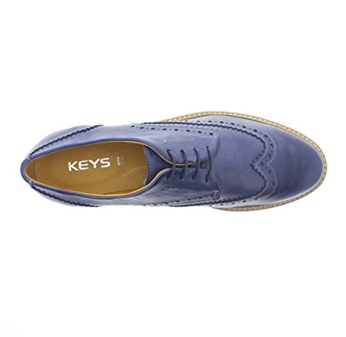 KEYS 5091 SNEAKERS DONNA PELLE DERBY AVIO