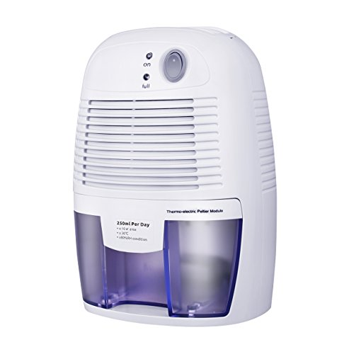 VicTsing Dehumidifier, Portable Air Dehumidifier for Home Intelligent Auto Off, Home Small Dehumidifier for Bedroom by VicTsing