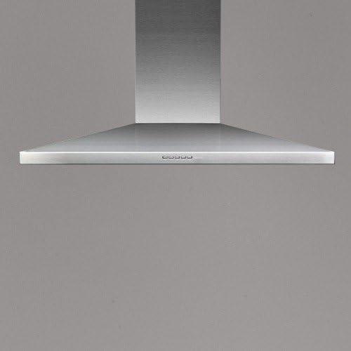 Falmec Mizar-Campana de pared de acero inoxidable 90 cm y potencia 600m3/h: Amazon.es: Hogar