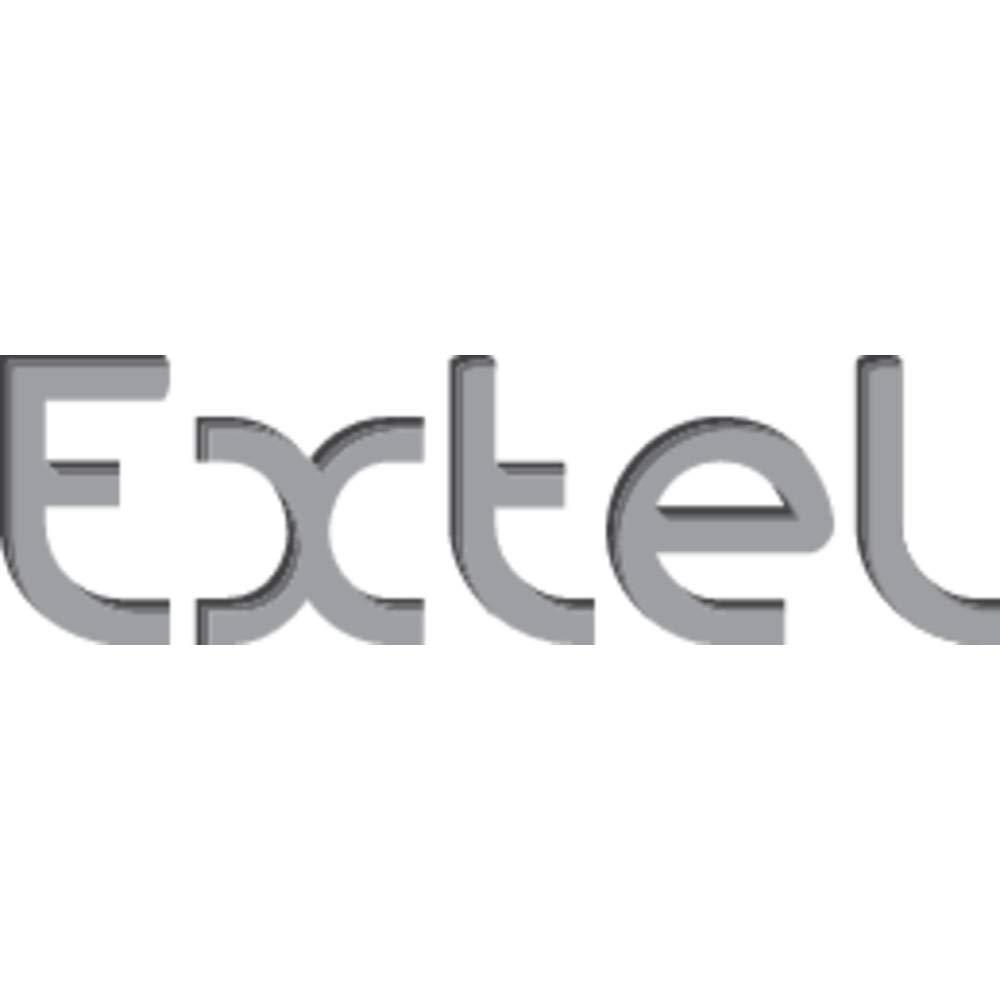 s EXTEL Interphone vid/éo Levo Access Edition Contact 720293 2 Fils Set Complet 1 Foyer Noir 1 pc