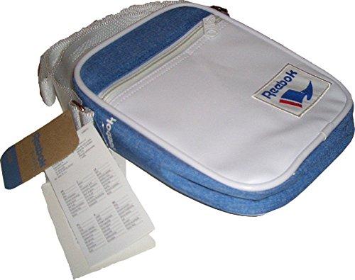 Reebok Classic Royal City Bag, Tasche, Praktische, robuste Umhängetasche mit Reißverschluß und einer Außentaschen mit Reißverschluß und Verstellbare Träger, Maße : 22 x 16 x 5 cm