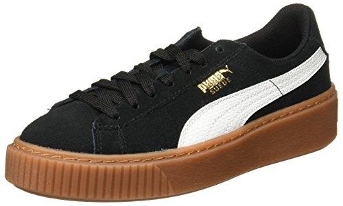 Puma Suede Platform Slang Jr 36390601, Sneakers Zwart