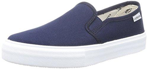 Calego marino Sneakers Da On Slip Adulto Lona Unisex Blu bleu pqwTpH4gr