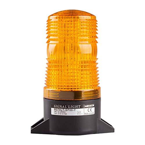 70mm Xenon Strobe Light, Surface Mount, 220VAC, Yellow Lens