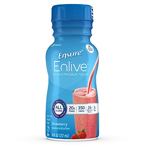 Ensure Strawberry Flavor 8 oz. Bottle Ready to Use, 64281 – Each