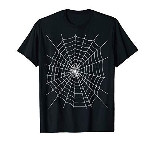 Mens Halloween Spider Web Costume T Shirt 2XL