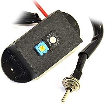 TUNE4 - Limitador Regulable de Velocidad y RPM con Interruptor para Motos de 2 Tiempos