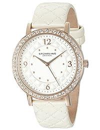 Stuhrling Original Women's 786.03 Analog Display Quartz White Watch