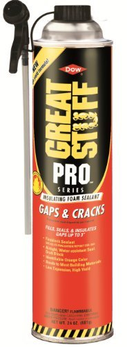 Dow Great Stuff Gaps and Cracks 24 oz Straw Foam (Case of 12) - 341553 by Dow