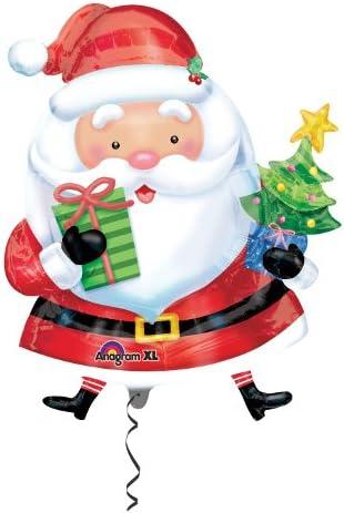 キッシーズ(Kishi's)【クリスマスバルーン】 サンタウィズツリー 風船 66x93cm 27229