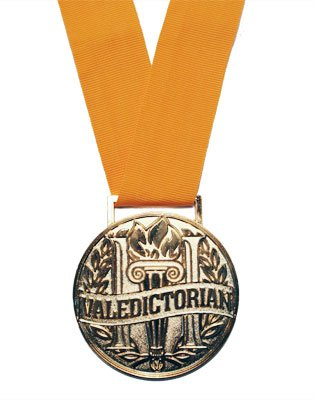 Valedictorian Graduation Medallion