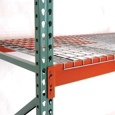 - AK Industrial Pallet Rack Wire Deck - 48in.D x 46in.W, Model# AK-WDF-48-46