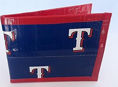 Texas Rangers MLB baseball Bi-Fold Duct Tape Wallet