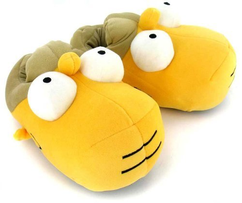 d118296c12f8 CARRY TRIP Unisex Simpson Cotton Slippers (Yellow)  Buy Online at ...