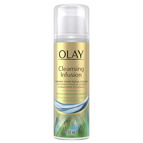 Olay Cleansing Infusion Facial Cleanser with Deep Sea Kelp, 5.0 Fluid - Hydrating Cleanser Olay