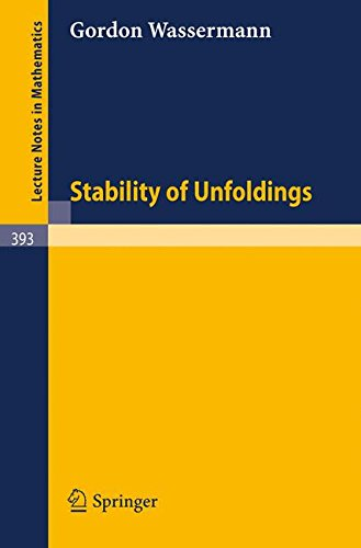 Stability of Unfoldings (Lecture Notes in Mathematics)