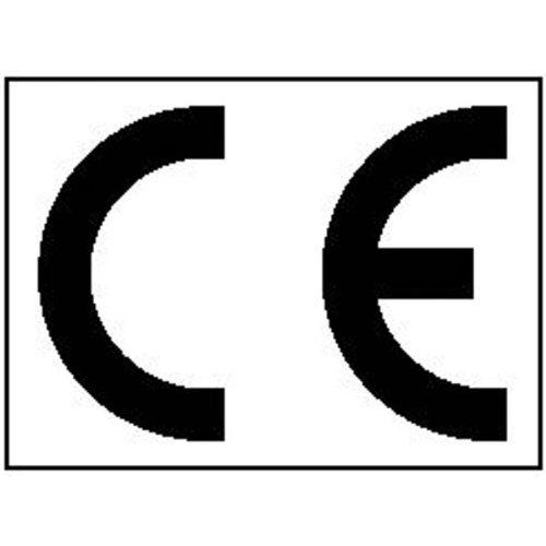 INDIGOS UG - CE-Kennzeichnung, 16 Stück auf Bogen Text: CE, gestanzt, 3, 40x2, 50 cm