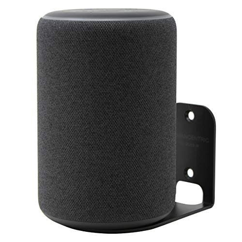 HumanCentric Wall Mount Compatible with Amazon Echo Plus (2nd Generation, 2018 Release) - Black
