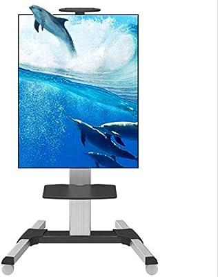 HANG - Soporte para TV de pie con Ruedas móviles para TV LED LCD de 32 a 70 Pulgadas, aleación de Aluminio, Pantalla Vertical: Amazon.es: Hogar
