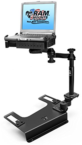 RAM Mounts (RAM-VB-193-SW1) No-Drill Laptop Mount for the Chevrolet Silverado 1500/2500/3500, Suburban, Tahoe, Gmc Sierra - Mount Gmc
