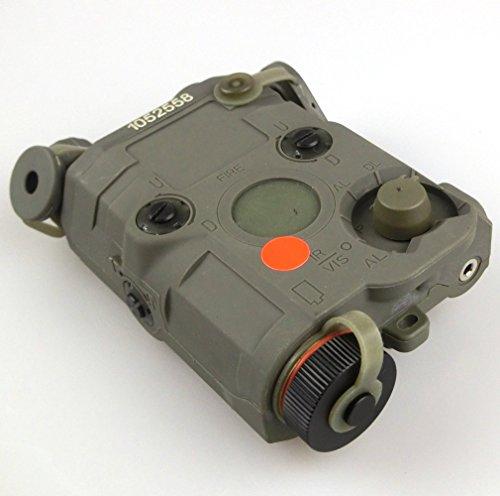 ATAIRSOFT-Airsoft-Version-PEQ-15-Style-LED-Flashlight-Red-Laser-Sight-FG-for-AEG-GBB-CQB