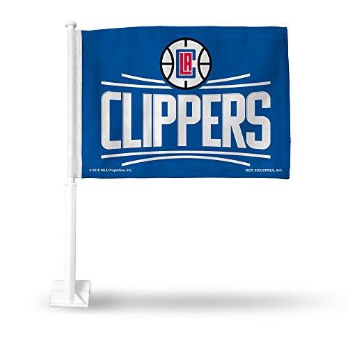 Rico NBA Clippers 2015 Car Flag, 8 x 1, Logo Color