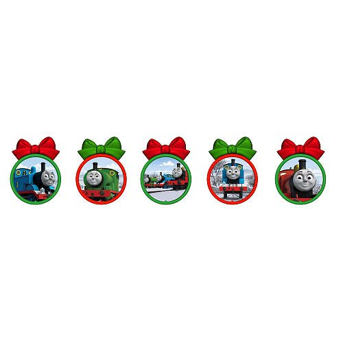 Thomas And Friends Christmas Tree Ornament Set 5 Pack Amazon Co