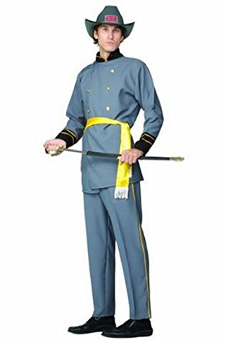 Adult Confederate Soldier Costumes - Confederate Soldier General Lee 36-38