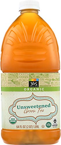 365 Everyday Value, Organic Green Tea, Unsweetened, 64 fl ()