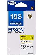 Epson T193 DuraBrite Ultra Ink, Yellow
