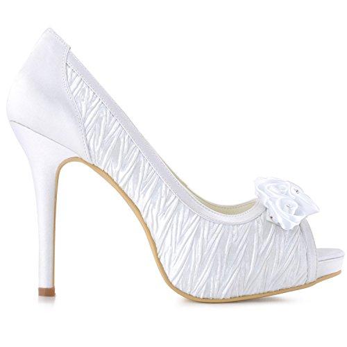 Minitoo , Escarpins pour femme - blanc - White-10cm Heel,