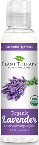 Plant Therapy Lavender Organic Hydrosol 4 oz  By-Product of