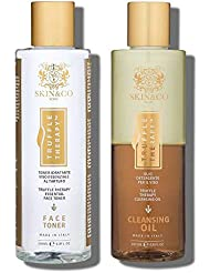 SKIN&CO TrufFle Therapy Face Toner + TrufFle Therapy Cleansing Oil Duo